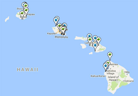 condos, homes and land for sale in Hawaii