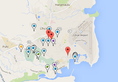 condos, homes and land for sale in Puhi Hawaii