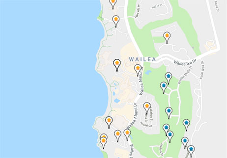condos, homes and land for sale in Wailea Hawaii