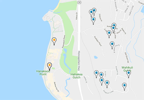 homes and land for sale in Kaanapali Hillside