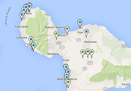 condos, homes and land for sale on Maui