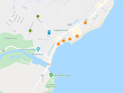 condos, homes and land for sale in Wailua Hawaii