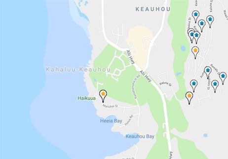 condos, homes and land for sale in Keauhou Hawaii
