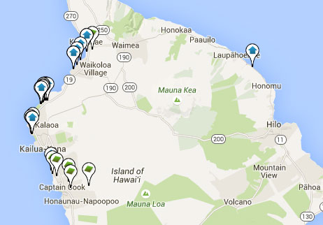condos, homes and land for sale on Big Island