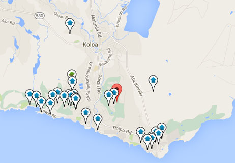 condos, homes and land for sale in Poipu Hawaii