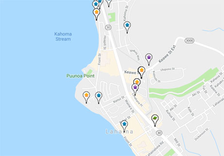 condos, homes and land for sale in Lahaina Hawaii