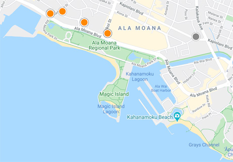 condos, homes and land for sale in Ala Moana Hawaii