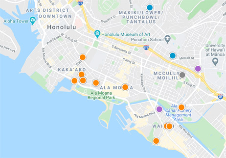 condos, homes and land for sale in Honolulu Hawaii